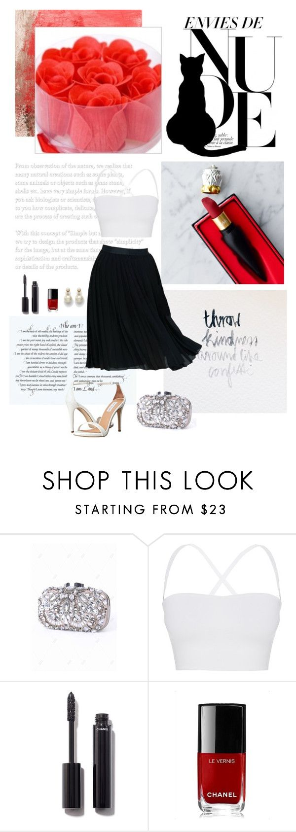 """""""We'll Meet Again"""" by viktorija-malovic ❤ liked on Polyvore featuring Theory, Chanel and Steve Madden"""