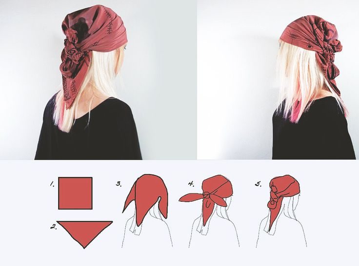 Get more use out of a basic large scarf: 6 SIMPLE WAYS TO WEAR HEAD SCARF | Rannka