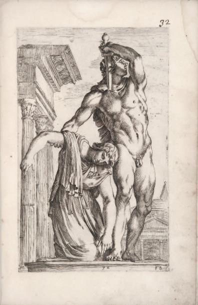 PERRIER Segmenta nobilium signorum et statuarum... Urbis aeternae ruinis