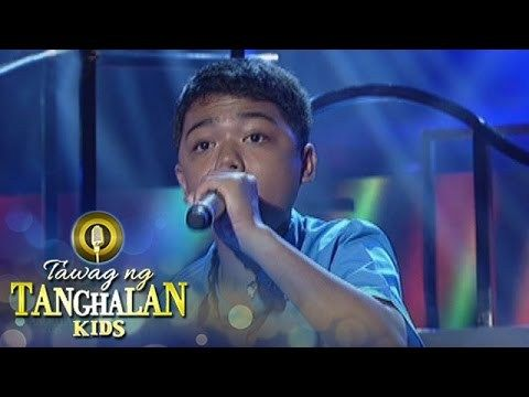 """Tawag ng Tanghalan Kids: John Ramirez 