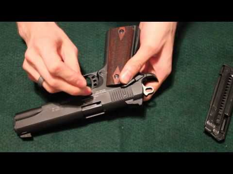 Sig 1911-22 Disassembly info