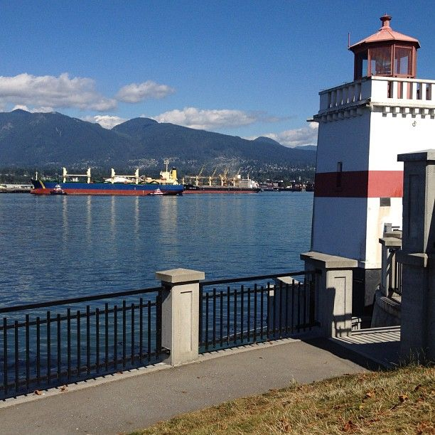 Brockton Point Lighthouse in Vancouver, BC