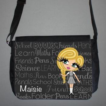 Back To School Personalised Messenger Bag (Large) 2