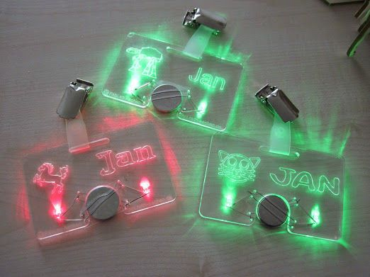 Picture of LED Nametag