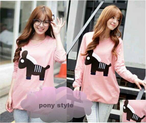 Pony Style   #bajurajut #rajutmurah #rajutkorea #bandung #readystock