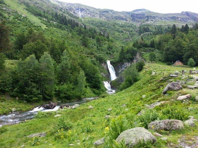 SOM DE PÍCNIC: Zona de pícnic (Airau Naturau) Plan Batalhèr, Gausac, Vall d'Aran