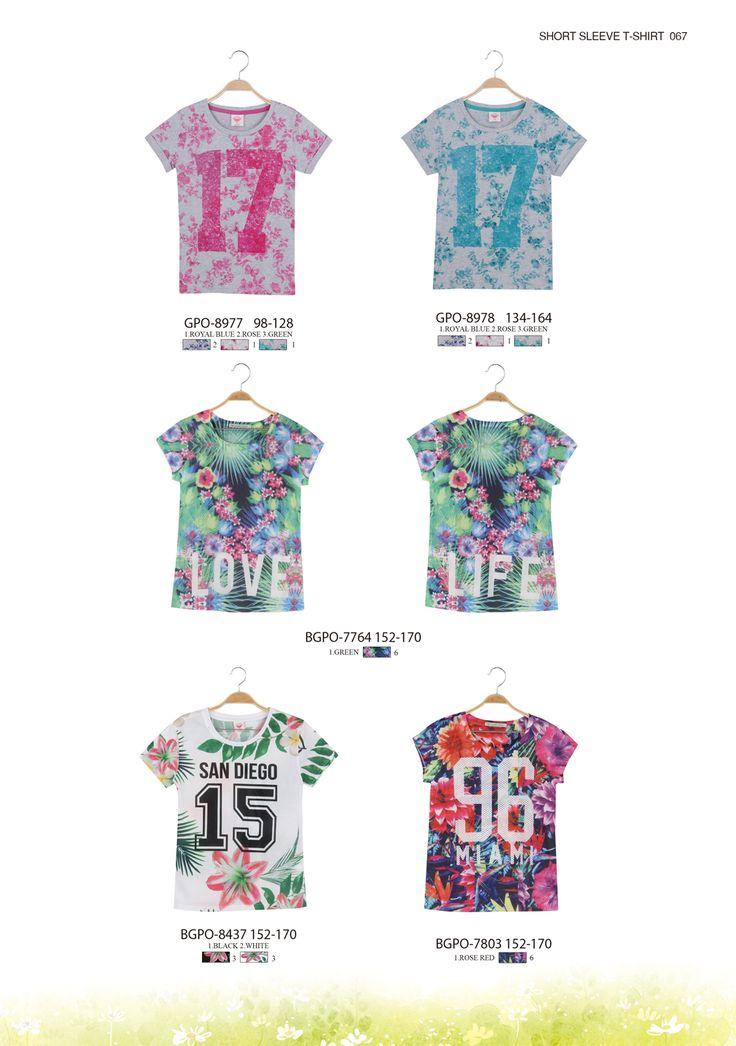 Tropical T-shirts for the hottest days  #glostory #fashion #forgirls #ss15 #cute #clothing #fashion #tshirt #tropical