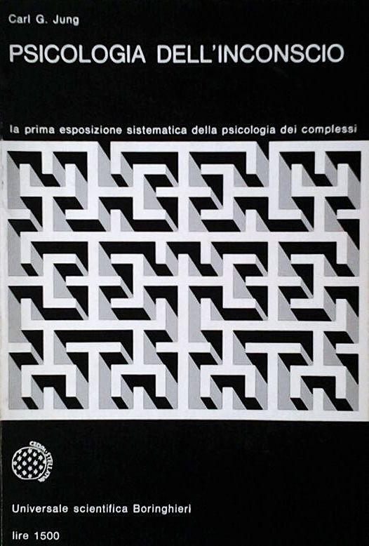 Enzo Mari – Carl G. Jung, Psicologia dell'inconscio, Boringhieri, Torino, 1968