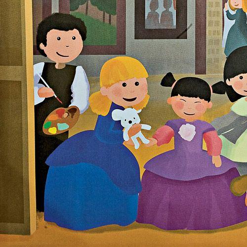 Cuadro infantil las Meninas de Velazquez