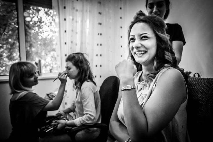 Fotografie de nuntă. Anca și Iozef, nuntă București - Phoenix Cernica. Fotografii de Mihai Zaharia Photography. Pregătiri. Alb-negru