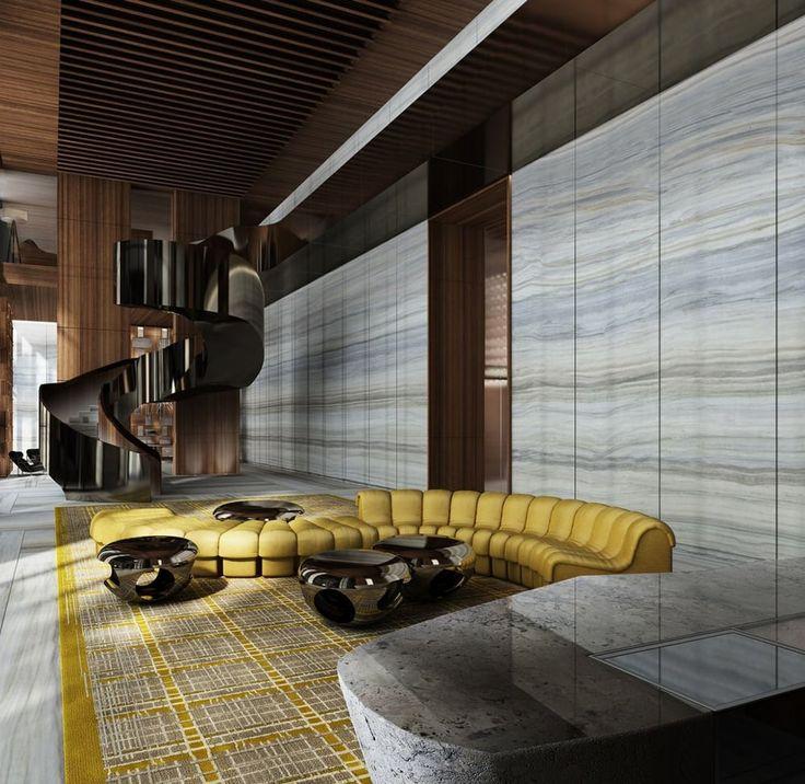 LUXURY INTERIOS|Yabu Pushelberg designs Miami's Brickell House | bocadolobo.com | #luxuryhotels #besthotels