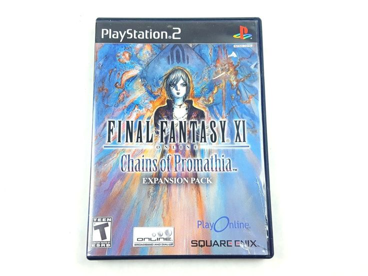 UncleZekes.com - Final Fantasy XI Online Chains of Promathia Sony PlayStation 2 2004