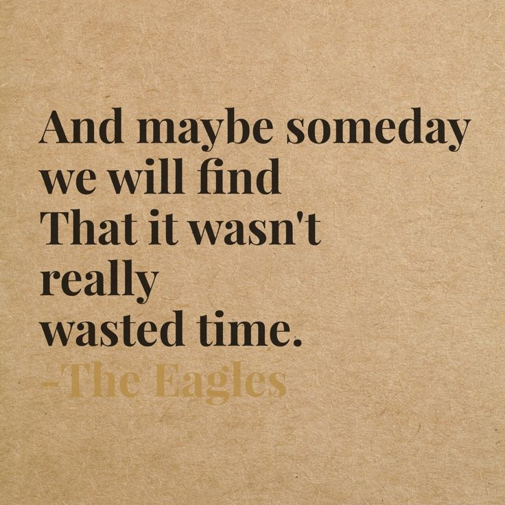 Wasted Time by The Eagles xxx