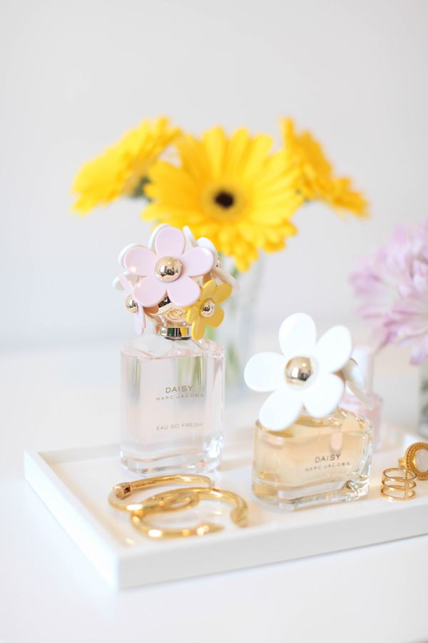 The Scent of Spring. @Marc Jacobs Fragrances @StyleList #mjdaisychain