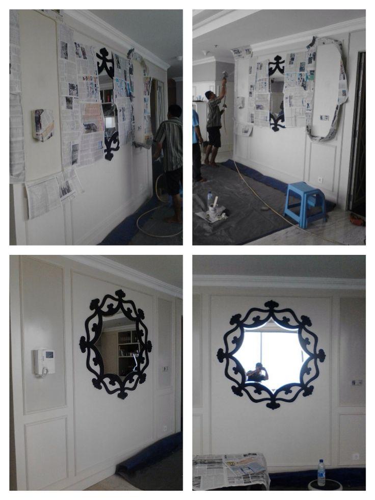 "Our project in Regatta Apartment Tower Dubai "" Cermin Dinding"""
