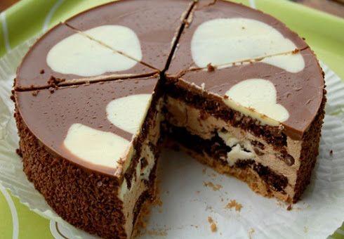Kuche Guten Appetit: MILKA TORTE