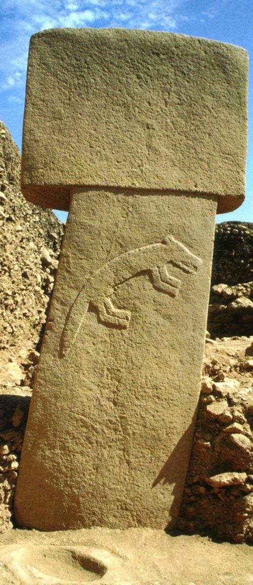 Göbeklitepe- Urfa, 9600 BC (11.600 years ago)