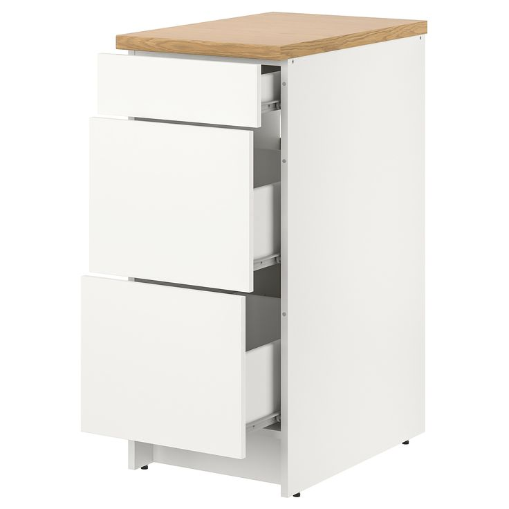 Ikea Knoxhult White Base Cabinet With Drawers Base Cabinets Cabinet Drawers Ikea