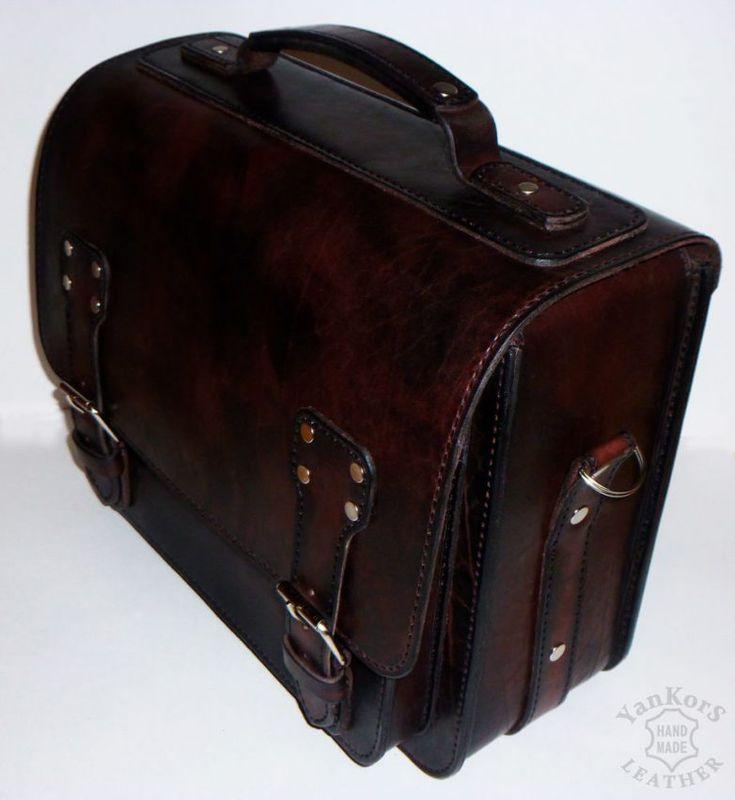 Кожаный портфель своими руками / Я - суперпупер