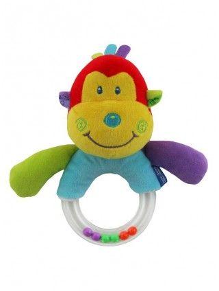 Dětské plyšové chrastítko Baby Mix opička