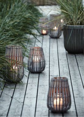Bamboo Lantern | linen and milk