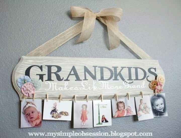 Grandkids picture holder