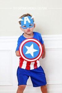 DIY Captain America Costume by In Honor of Design