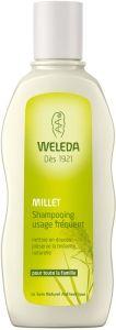 Weleda: Shampooing usage fréquent au Millet, shampoing naturel et bio