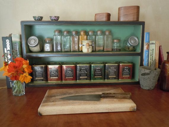 Spice RackLarge Free Standing Spice Rack in by OldCountryGeneral, $47.50
