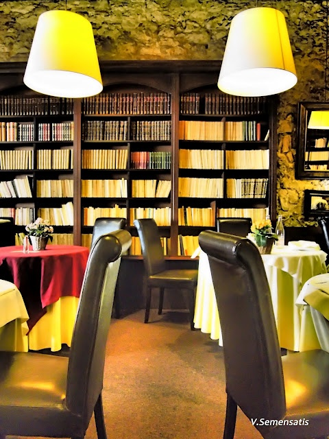 Les Arcenaulx- my favorite restaurant in Marseille, a beautiful old library turned fine dining