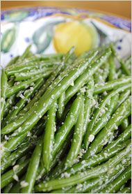 String beans with ginger and garlic (NY Times)  Looks like something I may need to try