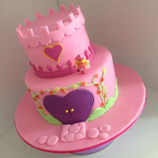 fairy princess castle | Pretty Witty Cakes