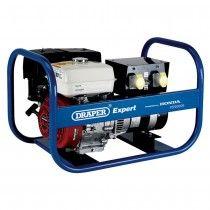 Draper PG5000R 5.0KVA Honda Petrol Generator