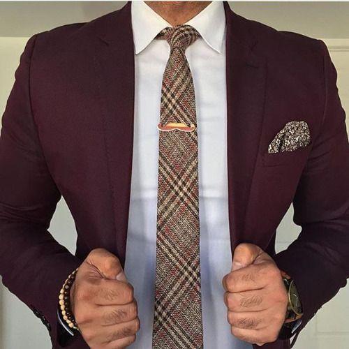 Best 25 Burgundy Suit Ideas On Pinterest