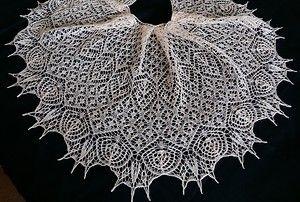 Любительницы шалей спицами - 5