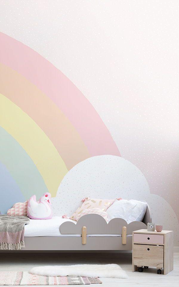 Regenbogen Schlafzimmer Dekor Für Nette Mädchen Schlafzimmer Ideen, Ideal Für  Mädchen Jeden Alters. Seien Sie Ein Baby Oder Eine Erwachsene Frau, ...