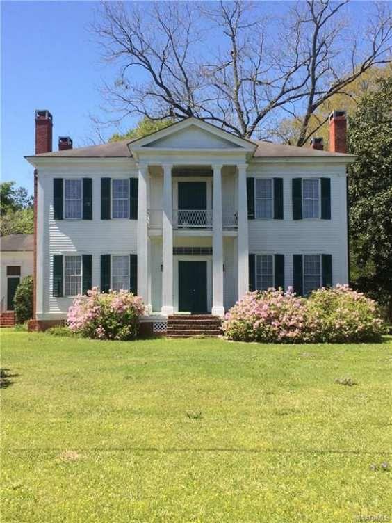1850 Greek Revival – Troy, AL – $289,900 | Old House Dreams