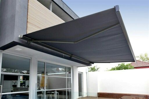 Frameless retractable awning                                                                                                                                                                                 More