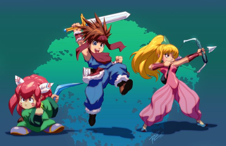 Secret of Mana. Mana Guardians by Robaato. Fun game.