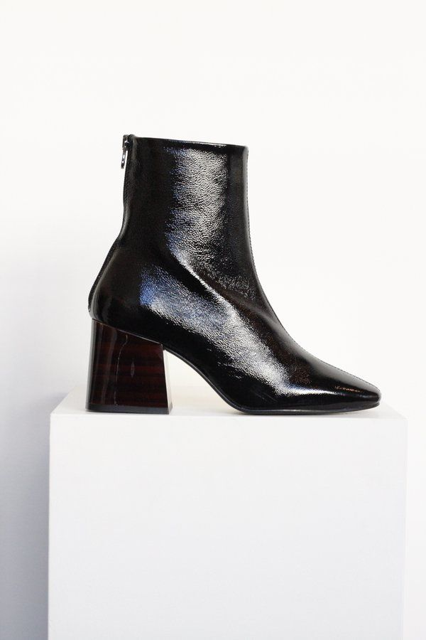 97b150d946f L'Intervalle Valence Leather Boot | Foot | Boots, Leather boots, Mid ...