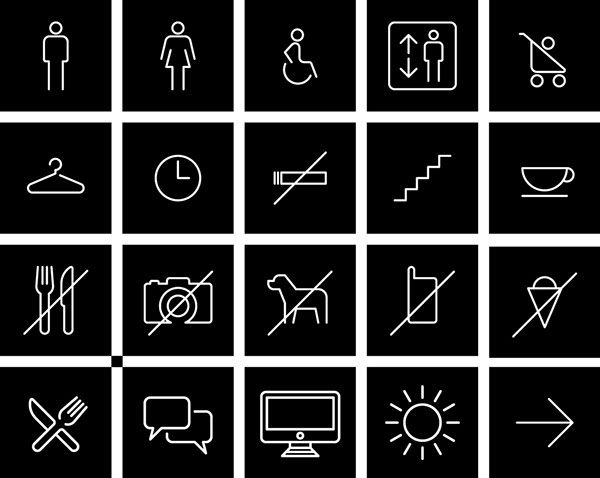 Design Terminal identity and signage / 2012-2014 on Behance