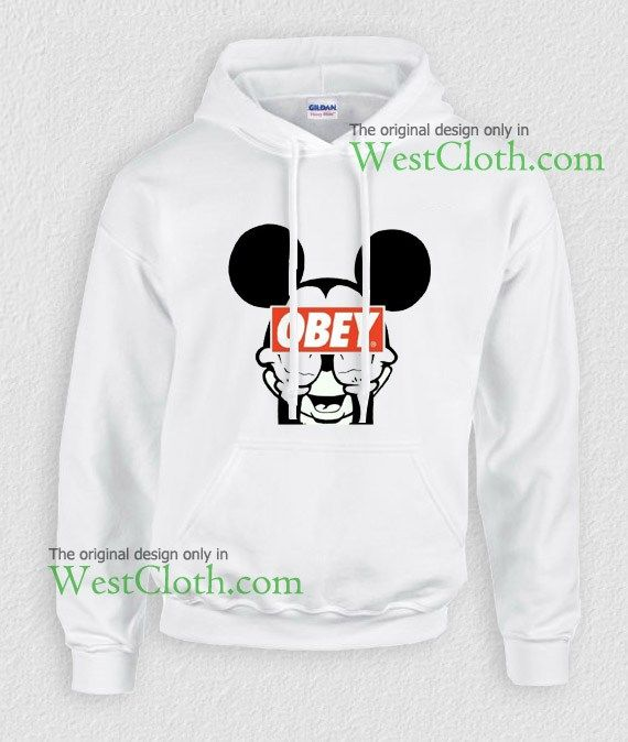 46 best hoodies images on pinterest hoodies parka and sweatshirts mickey mouse obey hoodie mickey mouse obey hoodies available only for adults gumiabroncs Gallery