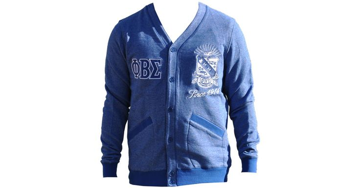Phi Beta Sigma Male Cardigan