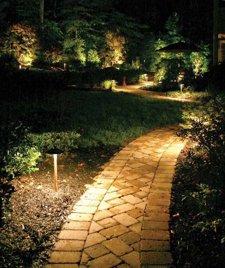 24 best free outdoor lighting design plans images on pinterest this hand laid herringbone sidewalk leads visitors to a beautifully illuminated multi tiered backyard aloadofball Gallery