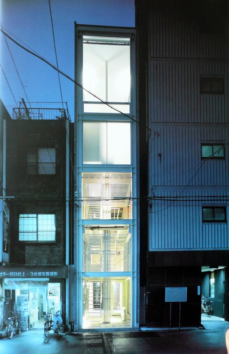 Waro kishi house in osaka architektur pinterest for Best boutique hotels osaka