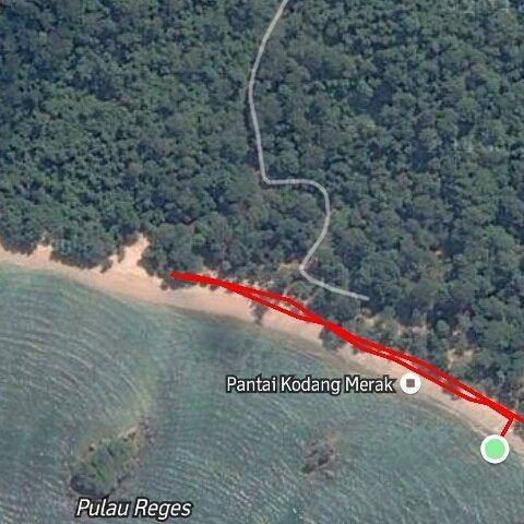 Beach Run  #KondangMerak #run #running by hadisambodo