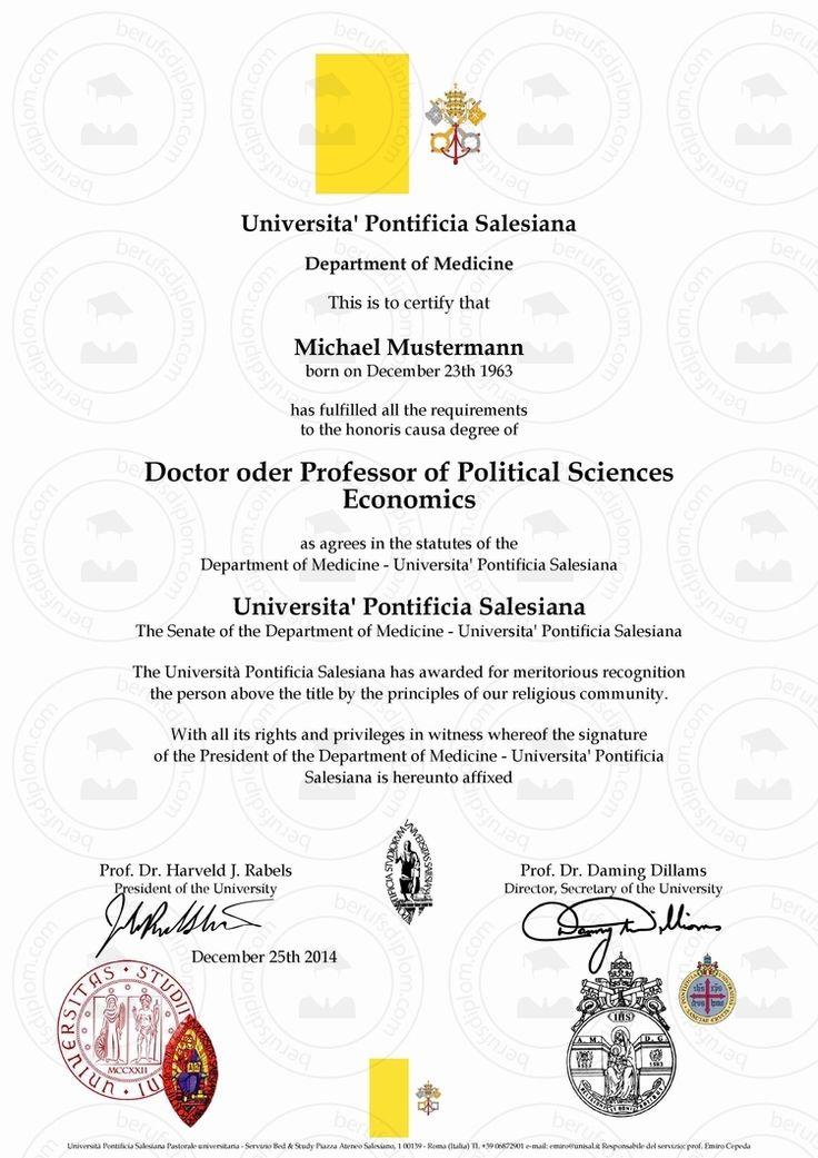 Doktortitel Pontificia Salesiana University (Dr. h. c.), (Prof. h. c.) kaufen! Prof. Dr. h.c Titel kaufen, Titel kaufen, Doktor werden, h.c., Dr. h.c., Prof. h.c., Dr hc kaufen, Prof. Doktortitel Pontificia Salesiana online kaufen Doktortitel kaufen von teuerste Universität der Welt: Pontificia Salesiana University, Ehrendoktor (Dr. h. c.), Ehrenprofessor (Prof. h. c.), (Prof. Dr. h. c.) ► Reproduktion einer Promotionsurkunde mit individuellem Doktortitel (Pontificia Salesiana)
