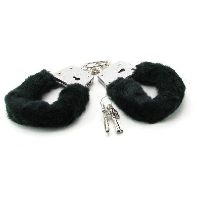 Lock up your lover and explore your fetish fantasies! Lined with velvety-soft faux fur these heavy-duty cuffs keep your lover comfortably constrained and looking sexy. The locking mechanism has a quick-release button in case you lose the key and their sturdy design ensures they are made to play hard. You will both love the sensuous feel of the soft fur as it teases and titillates!