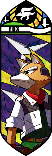 Smash Bros - Fox by Quas-quas on deviantART