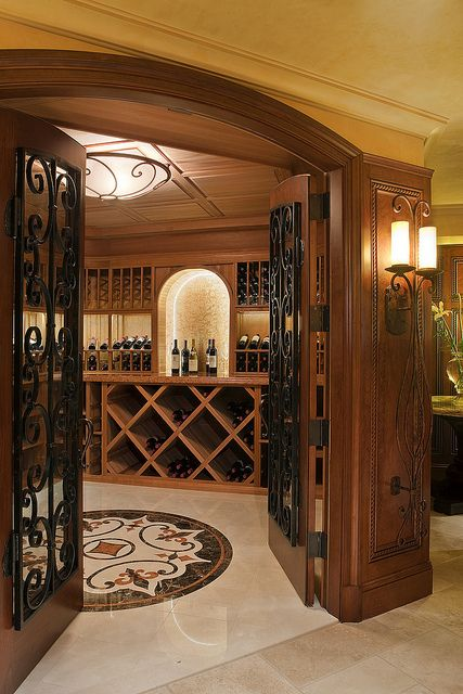 Wine cellar in the basement.  Definitely a must!  As soon as I win the lottery ;)